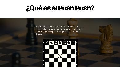 Ana Martín Prieto Push Push Game