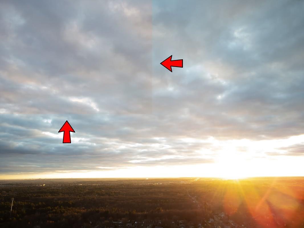 Error en las fotos RAW del dron DJI Mini 2
