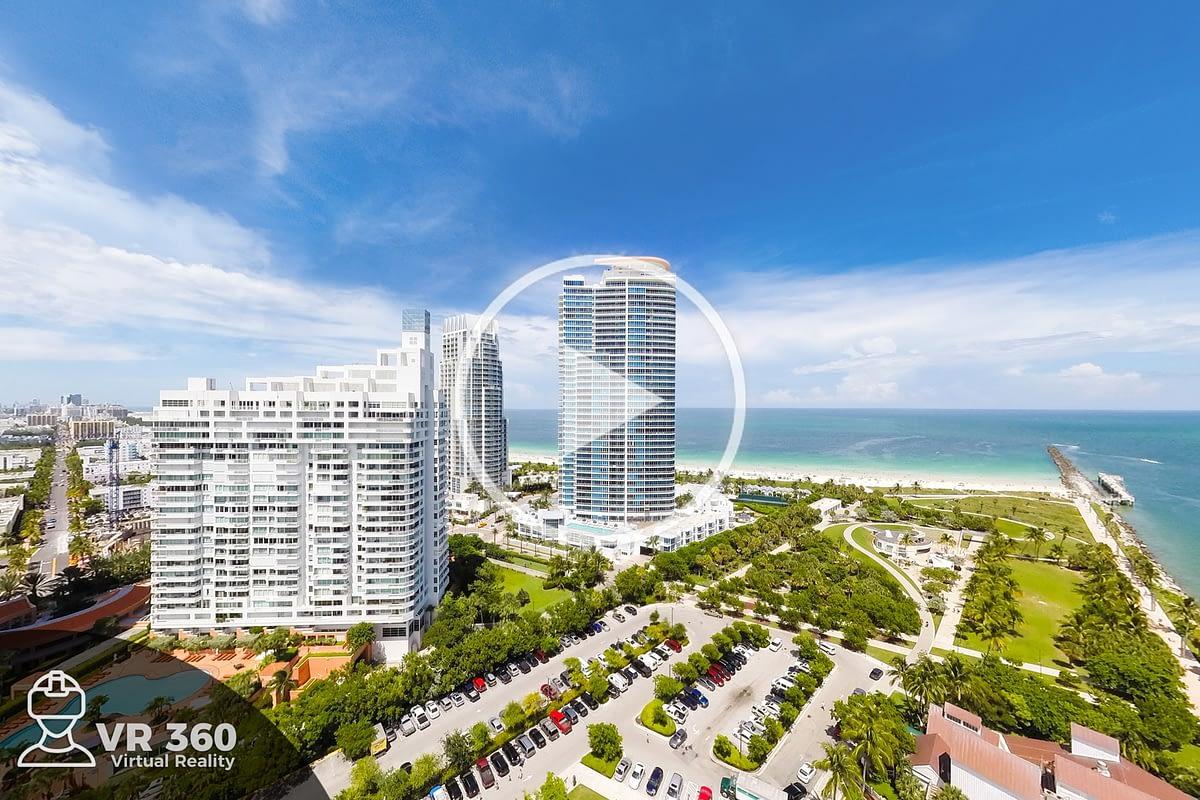 Fotografía Aérea 360 de Miami South Beach