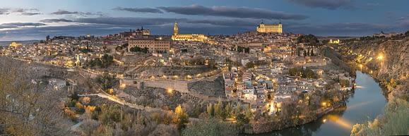 Atardecer en Toledo, España