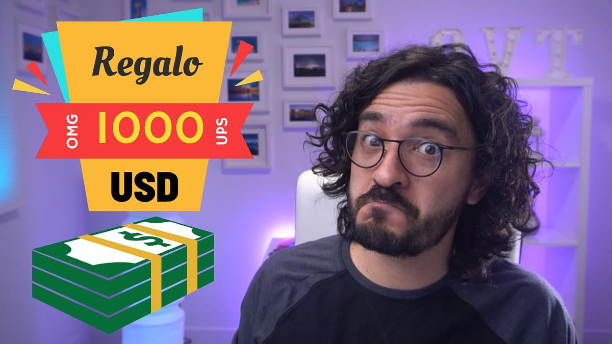 Mario Carvajal regala 1000 a un estudiante juicioso