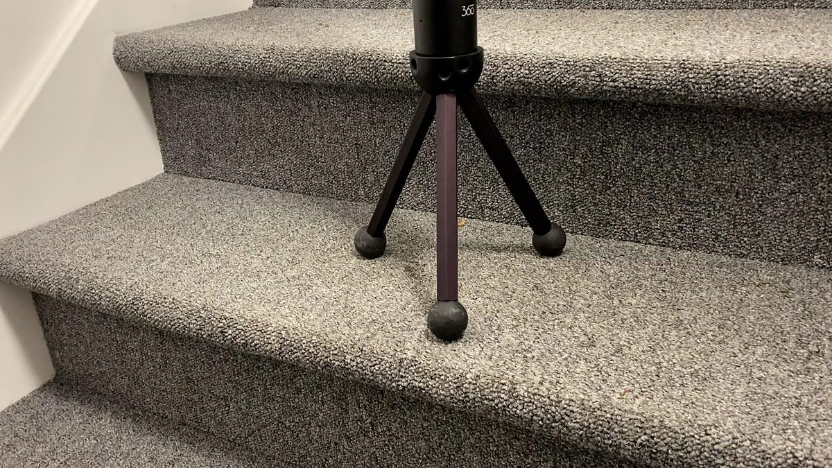 Patas encogidas, ideales para usar en escaleras