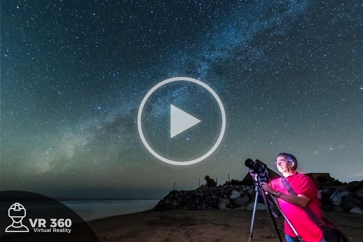 Vía Láctea en las playas de Altata