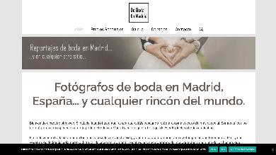 Eduardo Hinojal fotografía de bodas en Madrid