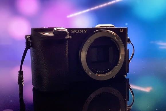 Sony a6300 cámara para hacer fotografia 360