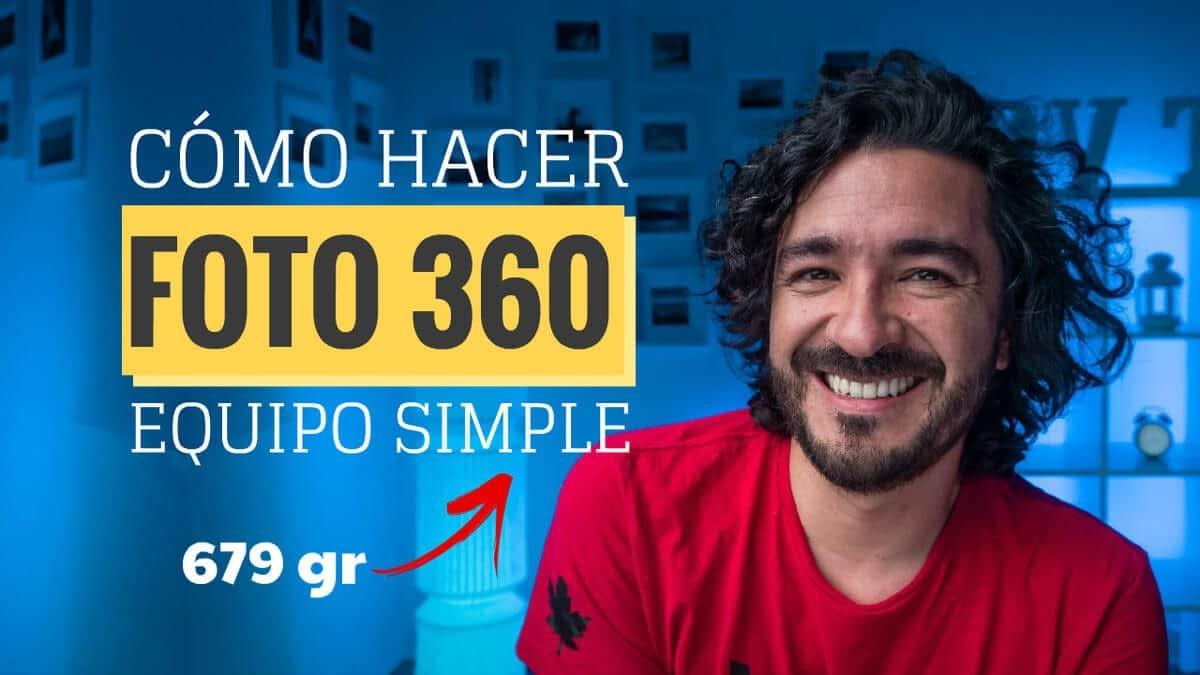Cómo hacer fotos 360 interactivas con Mario Carvajal, videotutorial