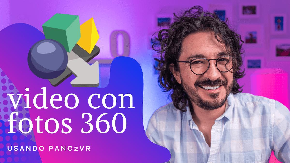 Pano2VR: Tutorial en español para crear videos 4K con fotos 360, con Mario Carvajal
