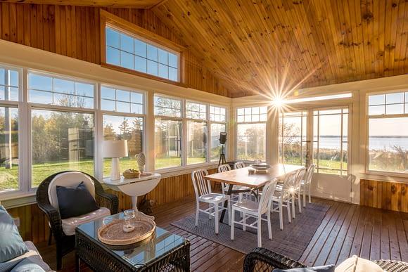 Comedor auxiliar, casa para la venta en New Brunswick, Canadá