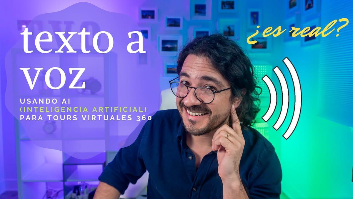 Mario Carvajal te muestra cómo convertir texto a voz con Inteligencia Artificial, voces realistas
