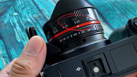 Cómo enfocar manualmente para hacer una fotografía 360 grados con el lente Ojo de Pez Samyang