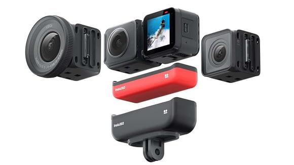 Insta 360 One R, cámara 360 para crear tours virtuales con Matterport en 3D