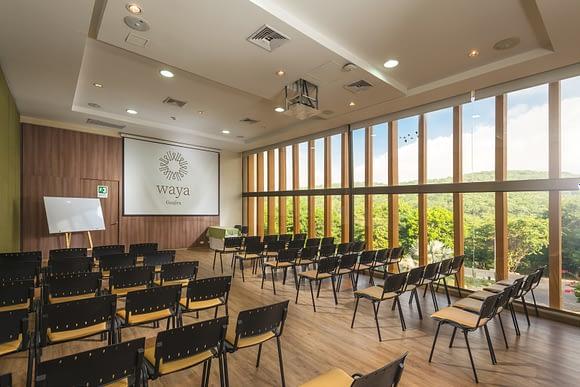 Sala de conferencias Hotel Waya Guajira