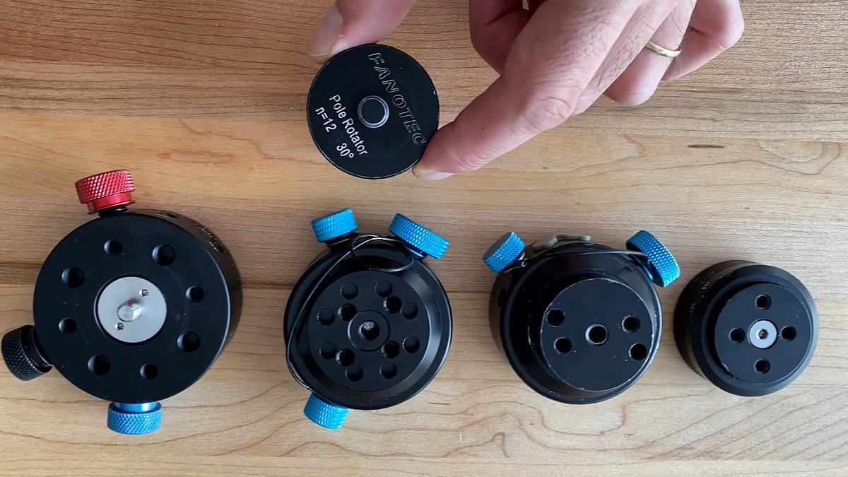 Rotor de Nodal Ninja para vara, adaptado a la Freedom360