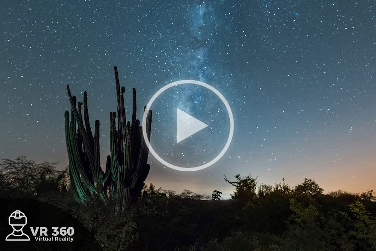 Vía Láctea en México