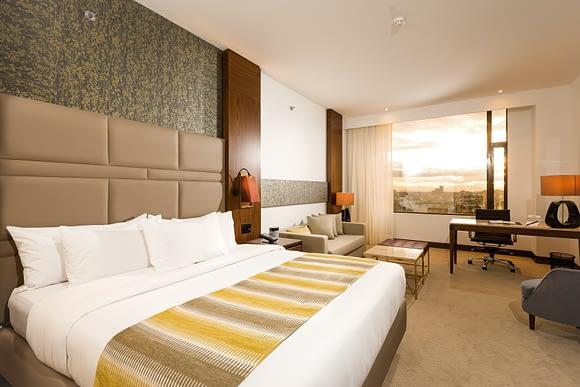 Habitación Ejecutiva del Hotel Radisson Royal.