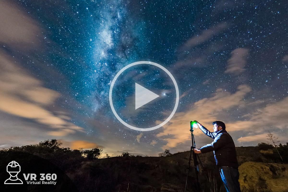 La Vía Láctea en Boyacá